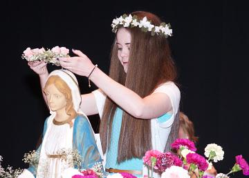 Mercy High May Crowning